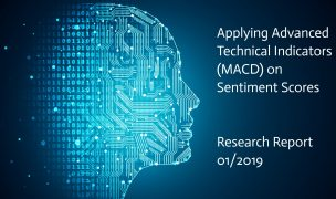 Applying Advanced Technical Indicators (MACD) on Sentiment  Scores
