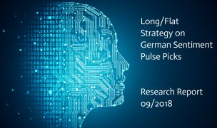 Long/Flat Strategy on German Sentiment Pulse Picks