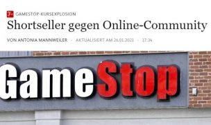 Shortseller versus Online-Community