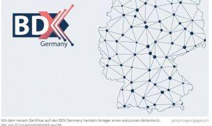 Innovatives Big-Data-ZertifikatJetzt handelbar: Die besten Aktien Deutschlands, die KI finden kann!